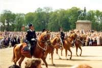 Парад перед Королевским дворцом