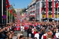 Национальный день Норвегии, Осло