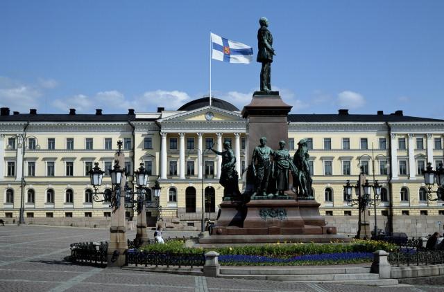 фото финляндии флаг